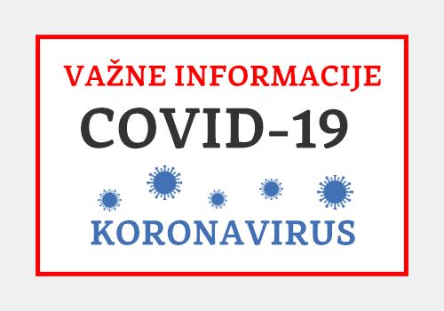 Obavijesti Koronavirus