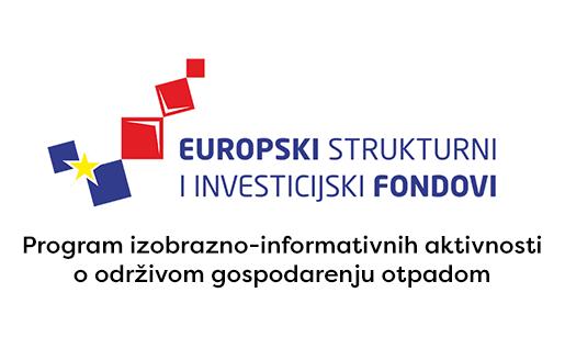 Logo projekta Europski strukturni i investicijski fondovi