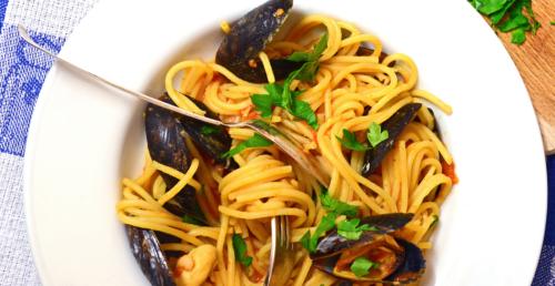 Dagnje sa Špagetima