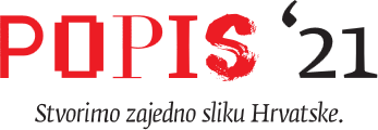 Popis 2021. - logo
