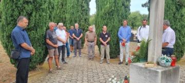 Obilježavanje Dana pobjede i domovinske zahvalnosti i Dana hrvatskih branitelja na mjesnom groblju u Funtani